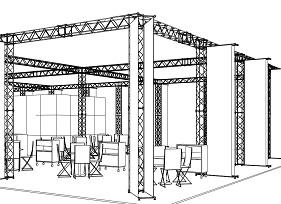 Июнь 2014. Выставочные конструкции Meroform (Германия)